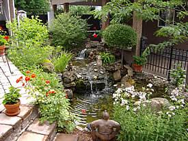 Archambault paysage conception d 39 am nagement paysager et for Conception jardin d eau